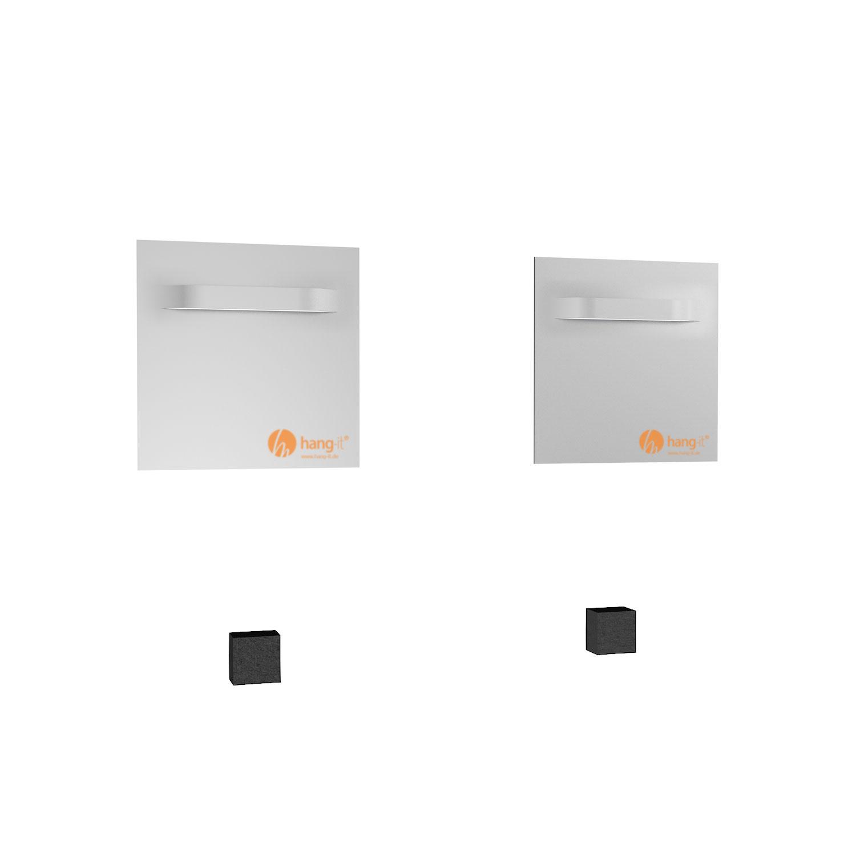 spiegelhalter set spiegelbech aufh ngerset. Black Bedroom Furniture Sets. Home Design Ideas